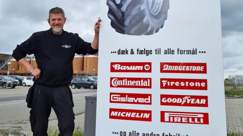 Jesper Christensen fra Hobro Dækcenter.