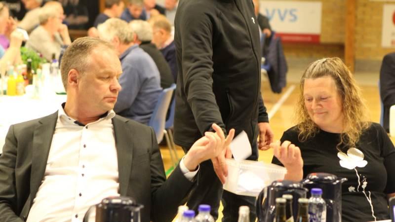 Afgørelsen hos Landboforeningen Limfjord lagde en dæmper på LandboThy-formand Leif Gravesen begejstring over det klare ja i Sjørring. Fotos: Christian Carus