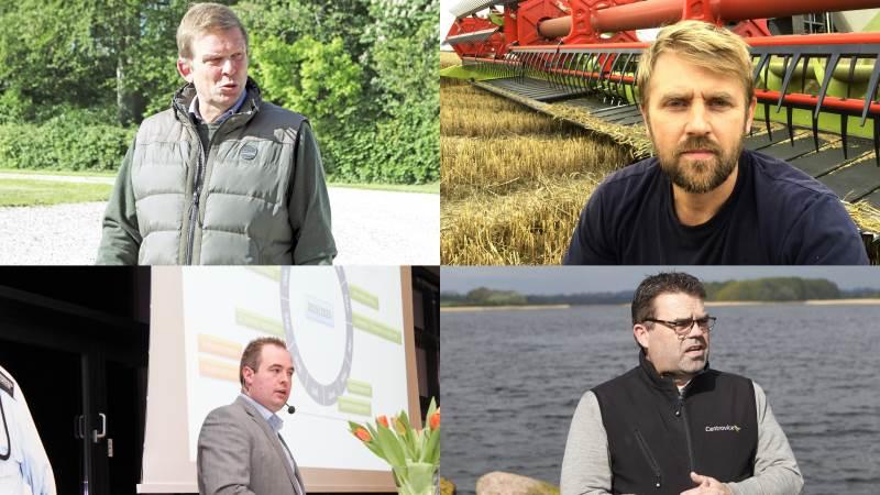 De fire landboformænd Torben Hansen, Hans Damgaard, H.C. Gæmelke og Torben Povlsen kalder processen omkring gennemførelsen af Baltic Pipe for tragikomisk.