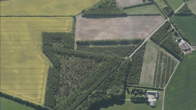 Nu er det muligt at se luftfotos af dine arealer i Internet Markkort, Arkivfoto