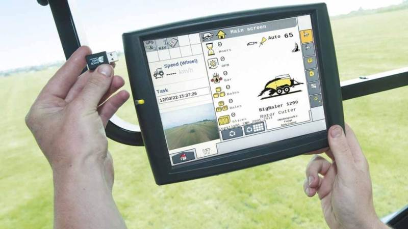 GPS-udstyr er eftertragtet hos tyve. Det gør New Holland nu noget ved.