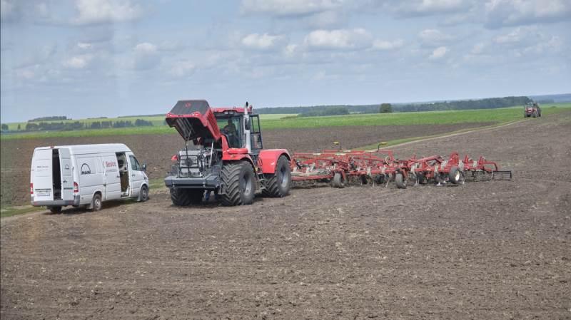 Landbruget i Rusland er inde i en stor effektivisering for at gøre det megastore land selvforsynende med fødevarer. Det tager selvfølgelig tid, men retningen er sat. Fotos: Niels Damsgaard Hansen