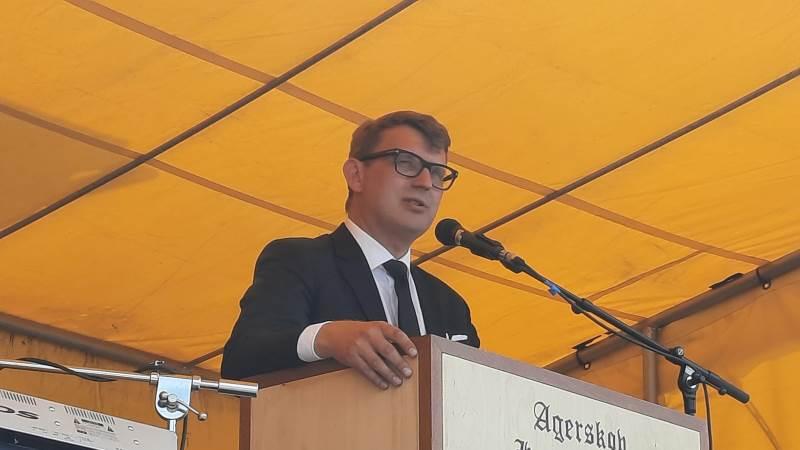 Troels Lund Poulsen, (V), langede ud efter regeringens landbrugsudspil. Foto: John Ankersen
