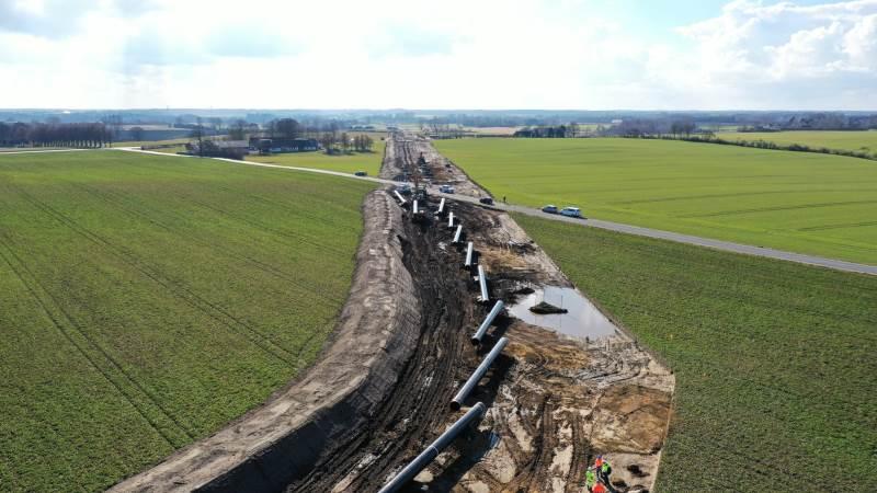 Der har i flere dele af Danmark været arbejdet længe på Baltic Pipe-projektet. Foto: Per Jørgensen