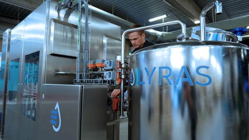 Hos Lyras i Nordjylland tror man, at virksomhedens nye pasteuriseringsteknologi kan være en kæmpe katalysator for grøn omstilling på tværs af fødevarekæden. Foto: Lyras