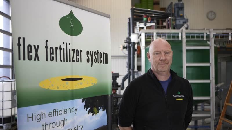 Jan Fischer, Flex Fertilizer, ser bladgødskning som et virkemiddel til at undgå efterafgrøder. Arkivfoto: Erik Hansen.