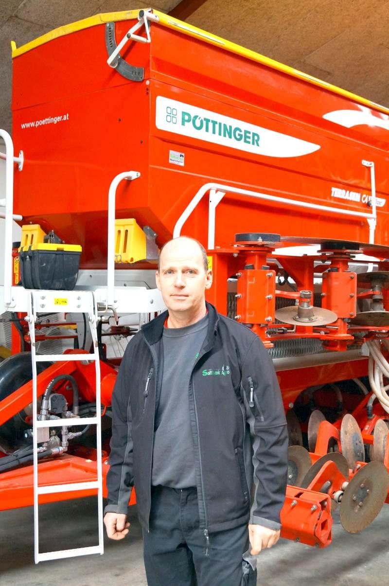 Saltbæk Agro ved Kjeld Olesen er en af de tre maskinforretninger, der står Maskintour Vestsjælland fredag den 18. juni. Arkivfoto