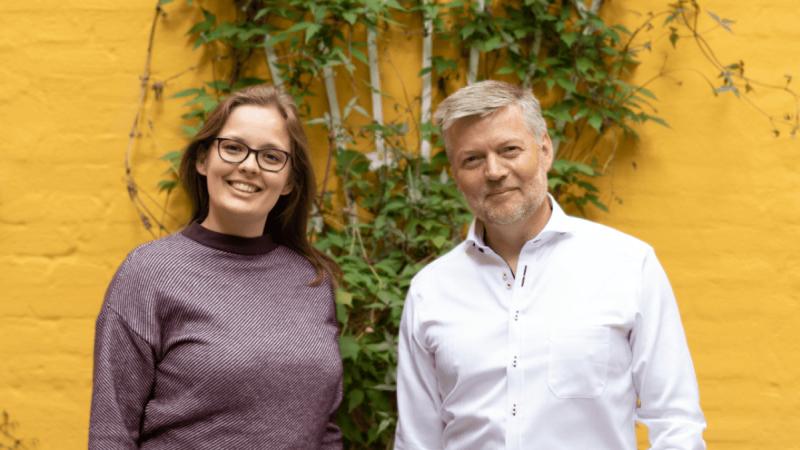 Solveig Felbo og Jan Andersen. Foto: Råhandel
