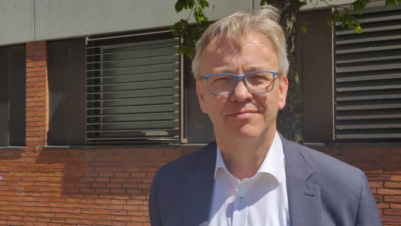 BL-direktør Hans Aarestrup er frustreret over, at det var nødvendigt at stævne AU-professor Stiig Markager for at få ham i tale. Foto: Lasse Ege Pedersen
