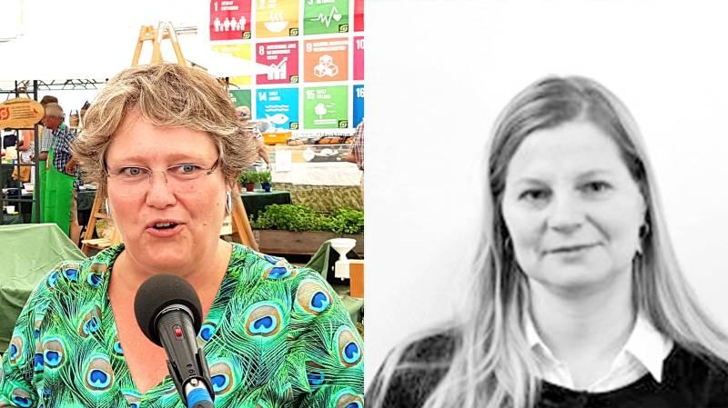 Jette Pedersen og Louise Piester fra Landbrugsstyrelsen har ifølge Journalista.dk været med at forgylde hinanden.