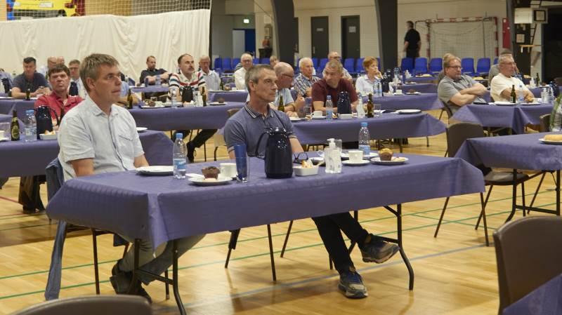 De stemmeberettigede var inviteret, da der forleden var generalforsamling ved Djursland Landboforening. Fotos: Tenna Bang