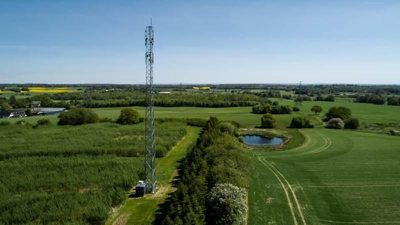 Alle tegn tyder på, at et forbedret og mere udbredt 5G-netværk er nøglen til mere og bedre præcisionslandbrug. Foto: TDC