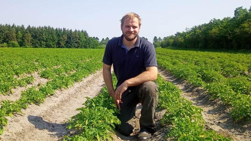 Niels Nørgaards plan i fremtiden er at træde ind i familielandbruget, Visgård, der med 1.300 søer producerer 24.000 slagtesvin årligt. Foto: Ovstrup Grisen