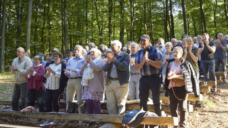 Martin Merrild modtog et stående bifald fra medlemmerne i Holstebro-Struer. Fotos: Tenna Bang