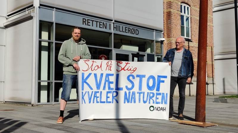 Retssagen tog sin begyndelse 8. juni, og blev altså afsluttet i dag. Foto. Lasse Ege.