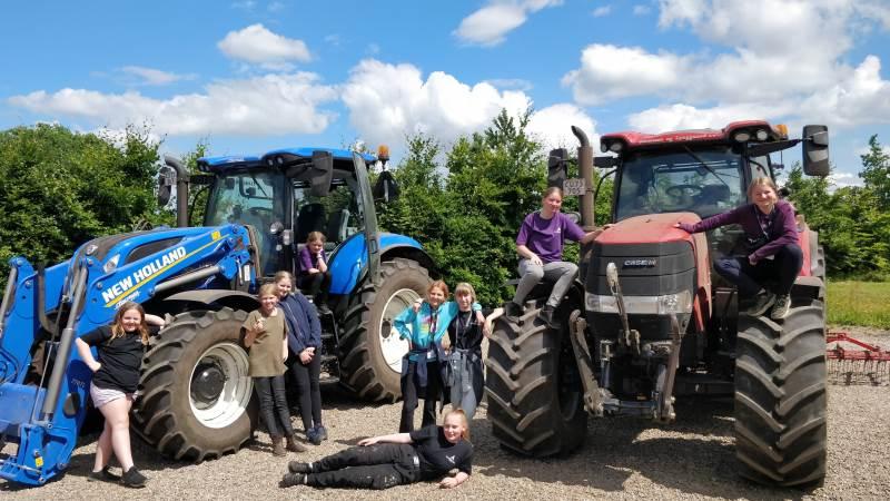 90 børn og unge havde revet en uge ud af sommerferiekalenderen for at deltage i SommerCamp ´21.