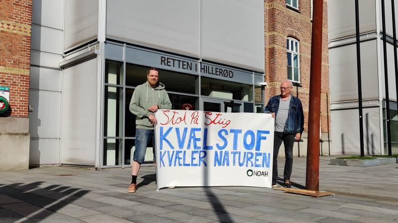 Der var stor opmærksomhed omkring retssagen, da den fandt sted ved Retten i Hillerød. Foto: Lasse Ege Pedersen