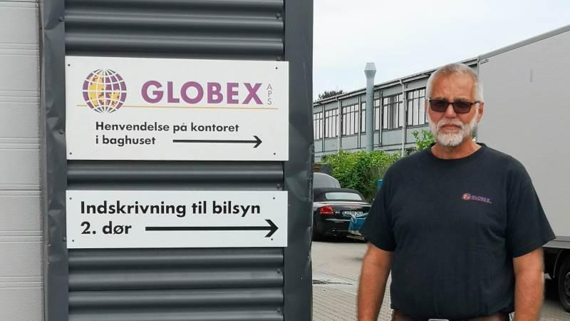 Kenneth Hansen, der står bag Globex A/S på Holsbjergvej i Albertslund, har indgået en servicepartneraftale med dæksalgsvirksomheden Ovethi – Dansk Dæk Service, der har 11 afdelinger fordelt over hele landet; dog ingen i hovedstadsområdet.
