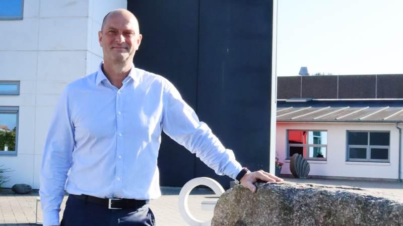 Gråkjær-direktør Henrik Skaarup kan glæde sig over et år med stor aktivitet og fremgang