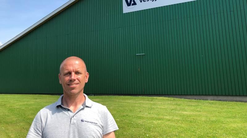 - Langt størstedelen af kunderne fra det gamle Hedegaard er fulgt med over i Vestjyllands Andel, fortæller Peder Balling, afdelingsleder i Bedsted Thy, der nu fylder ét år.