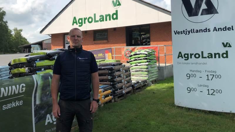 - Vi har haft fokus på at give afdelingen en makeover, fortæller afdelingsleder i Vestjyllands Andels afdeling i Brande, Hannibal Gregersen.