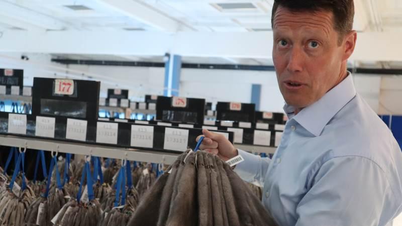 Den administrerende direktør i Kopenhagen Fur, Jesper Lauge Christensen, har siden udmeldingen om firmaets lukning fokuseret på at få afsluttet det sidste kapitel i virksomhedens historie. Foto: Michael Strandfelt