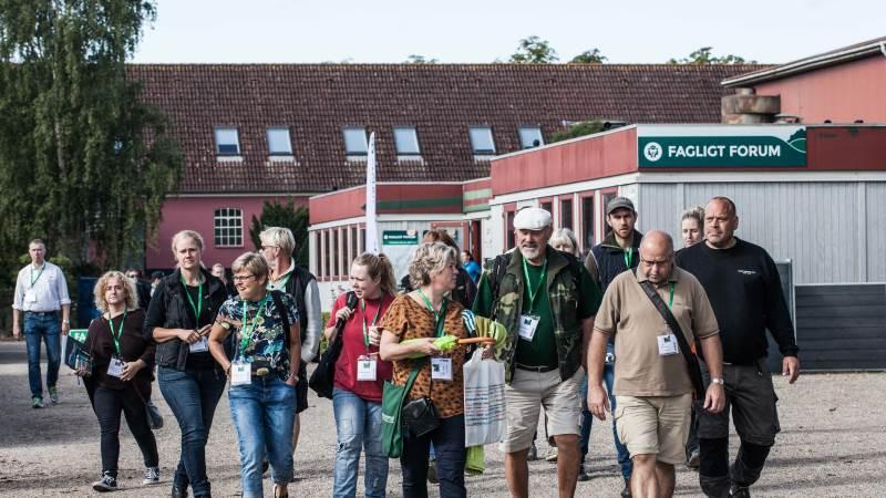 Fagligt forum på Have & Landskab tiltrækker typisk mange interesserede til de tre dage. Her er et billede fra sidste gang, det fandt sted, i 2019.
