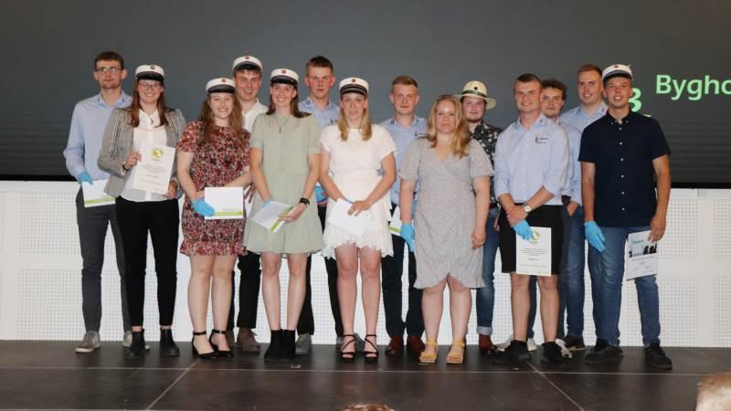 Legatmodtagerne fra Bygholm Landbrugsskole