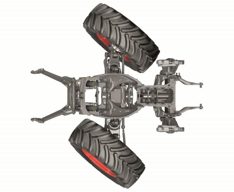 Premium-komfortpakken, der tilbydes de to topmodeller i serien Arion 460 og 470, leveres nu med førerhusophæng og Proactiv-forakselaffjedring samt Hexashift-transmission, som er en 24 gange 24 transmission med seks PowerShift-hastigheder.