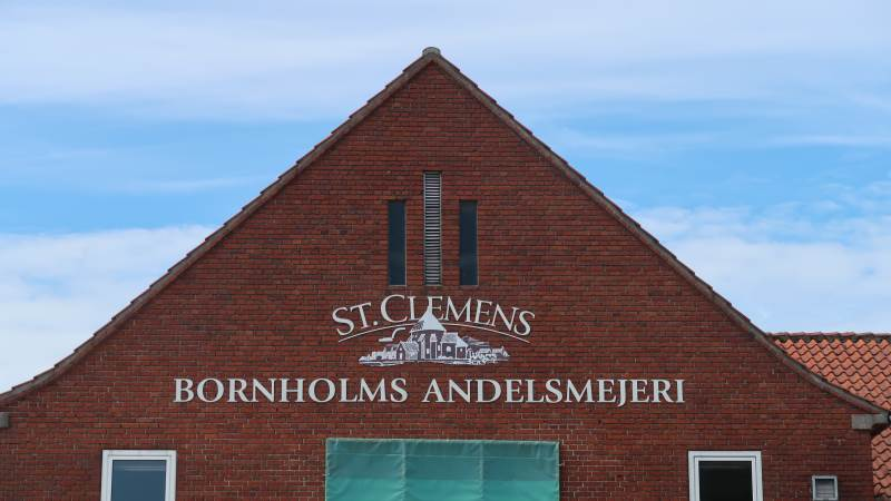 Trods et noget turbulent år med Covid-19 og toldmure i USA, er det begyndt at vende for andelsmejeriet på Bornholm. Foto: Karsten Himmelstrup