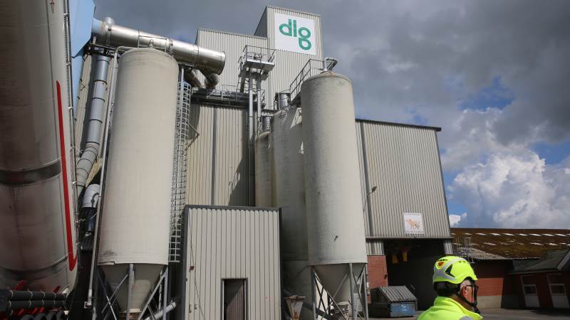 DLG's fabrik i Skave bliver i øjeblikket moderniseret og opjusteret for 66 millioner kroner. Foto: DLG