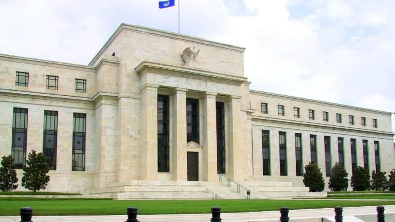 Den amerikanske centralbank, Federal Reserve, har hovedkontor i byen New York. Foto: Wikimedia