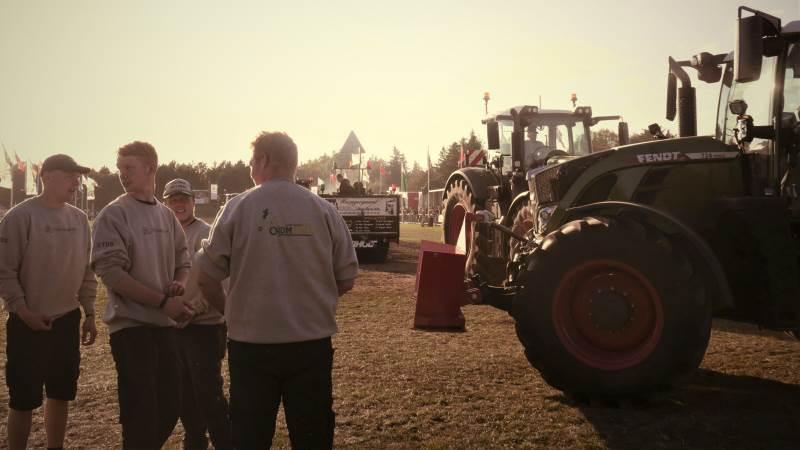 Lemvig summede af hestekræfter da der var DM i traktortræk. Foto: LandboUngdom.