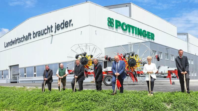 Østrigske Pöttinger har for første gang nået en årlig omsætning på mere end 400 millioner euro. Arkivfoto: Pöttinger.