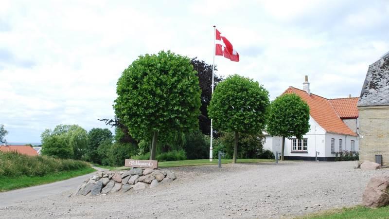 Claus Marx Hansen, Bakkegaard i Husby, er for første gang med som vært ved Åbent Landbrug. Privatfoto