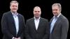 Hvis medlemmerne vil, ønsker landboforeningerne i Lemvig,  Skive og Thy at fusionere. Her ses deres formænd Morten Agger, Lars Kristensen og Leif Gravesen.