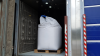 LDA Group i Letland, der er ejet af Anders Kjær Poulsen, har investeret i CleanAccess godssluser for at optimere deres biosecurity. Privatfoto