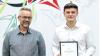 Jonatan Lykke modtog et legat for at være den elev med den bedste faglige udvikling. Han modtog legatet af legatgiver Torben Thorsen fra Thorsen Teknik A/S.