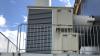 Heat-X-Rotate fra KJ Klimateknik er på kyllingestalden ved Brande placeret på en forhøjet stålplatform.