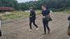L&F-formand Søren Søndergaard, der her ses tidligere på ugen med Venstres chefforhandler Troels Lund Poulsen, roser det blå landbrugsudspil. Foto: Henning K. Andersen