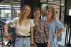 De tre medstiftere af Tempty Foods, Martina Lokajova (tv.), Ana Pejic (i midten) og Cecilie Engvang Lund (th.).