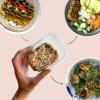 Temptys konsistens beskrives som frikadelle-agtigt. Og smagen er neutral med et twist af det asiatiske køkken.